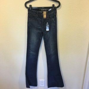 NWT American Eagle hi-rise slim flare jeans